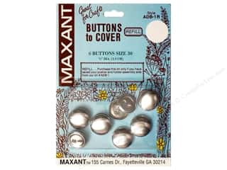 Maxant Button & Supply Maxant Cover Button Kit: Maxant Cover Button Refill Size 30