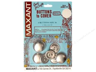 Maxant Button & Supply Buckles: Maxant Cover Button Refill Size 36