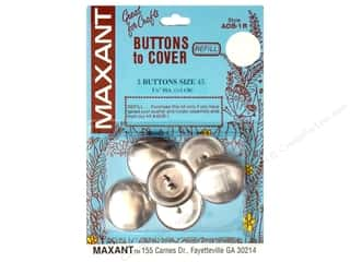 Maxant Button & Supply Maxant Cover Button Kit: Maxant Cover Button Refill Size 45