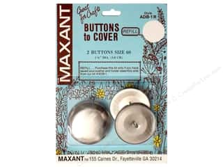 Maxant Button & Supply Maxant Cover Button Kit: Maxant Cover Button Refill Size 60
