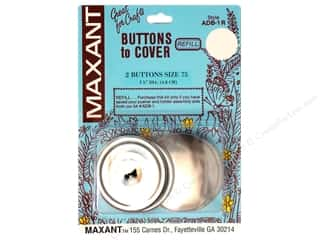 Maxant Button & Supply 22 mm: Maxant Cover Button Refill Size 75