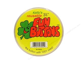 Buttons $2 - $3: Kelly's Fun Button 3 1/2 in. (12 pieces)
