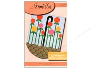 Spring Patterns: Pieced Tree April Showers Bring May Flowers Banner Pattern