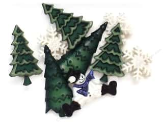 Jesse James Embellishments Christmas Collection Evergreen