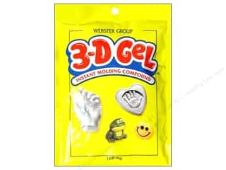 Craft & Hobbies: Webster Group Instant Mold Compound 3-D Gel Pouch