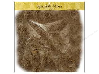 Floral Arranging Christmas: Panacea Moss Spanish Natural 16oz