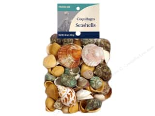 Panacea Decorative Accents Seashells Mesh Bag Assorted 12oz