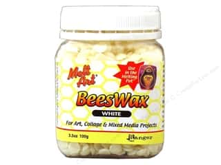 Clearance Blumenthal Favorite Findings: Ranger Melt Art Beeswax 3.5oz White