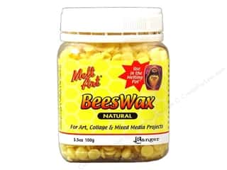 Ranger Melt Art Beeswax 3.5oz Natural