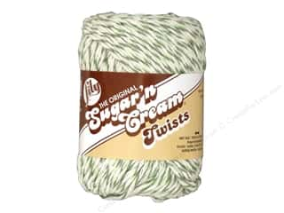 Lily Sugar 'n Cream Yarn  2 oz. #20244 Twists Green