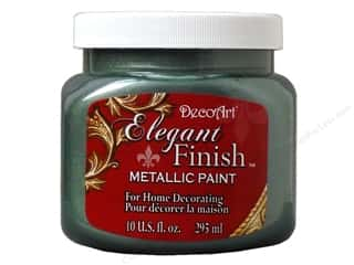 DecoArt Elegant Finish Paint: DecoArt Elegant Finish Paint 10oz Mtlc Drk Patina