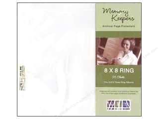 We R Memory Page Protectors Ring 8&quot;x 8&quot; 25 pc