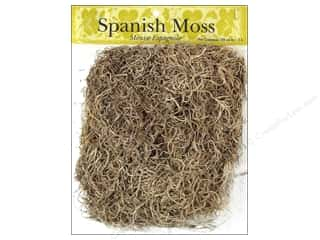 Mother Nature's Floral Arranging: Panacea Moss Spanish Natural 4oz
