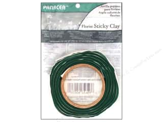 Floral & Garden Floral Supplies: Panacea Floral Supplies Sticky Clay Roll 4' Green
