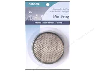 Panacea Floral Pin Frog 3&quot;
