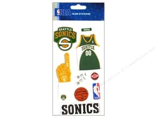 3D stickers -bling: EK NBA 3D Sticker Seattle Sonics