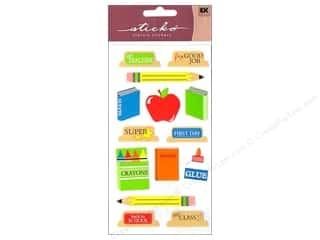 EK Sticko Stickers Back To School
