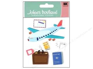 Clearance Blumenthal Favorite Findings: Jolee's Boutique Stickers Airplane Travel