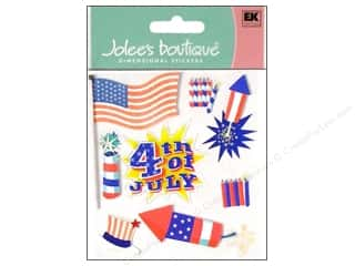 Clearance Blumenthal Favorite Findings: Jolee's Boutique Stickers Happy 4th
