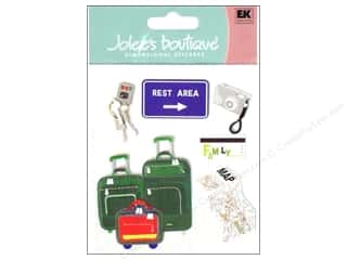 Clearance Blumenthal Favorite Findings: Jolee's Boutique Stickers Family Trip