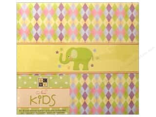 Scrapbooking & Paper Crafts: DieCuts Album Post Bound 8x8 Nanas Kids