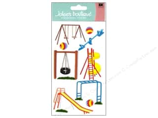 Clearance Blumenthal Favorite Findings: Jolee's Boutique Stickers Large Park Fun