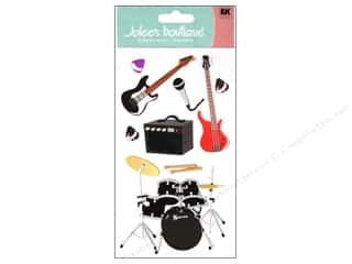 Clearance Artbin Yarn Drum: Jolee's Boutique Stickers Large Rock & Roll