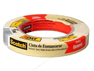 "Tapes Masking Tape: Scotch Tape Painter's  Masking 3/4""x 60-yd"