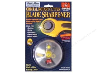 Weekly Specials Gingher Scissor: USA Sharpeners Orbital Cutter Blade Sharpener 45mm & 60mm