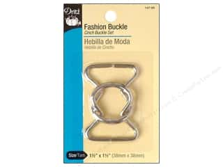 Dritz Buckle Fashion Cinch Nickel