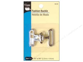 Sewing Construction 1 Pair: Fashion Buckle by Dritz Nickel