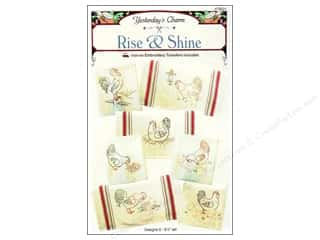 Yesterday's Charm $8 - $15: Yesterday's Charm Rise & Shine Iron-on Pattern