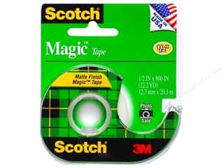 "Glues, Adhesives & Tapes Scotch Tape: Scotch Tape Magic 1/2""x 800"""