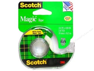"Glues, Adhesives & Tapes Scotch Tape: Scotch Tape Magic 3/4""x 650"""