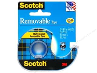 Scotch Tape Removable 3/4&quot;x 650&quot;
