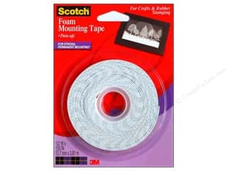 "Tapes Glues, Adhesives & Tapes: Scotch Foam Mounting Tape 1/2""x 150"""