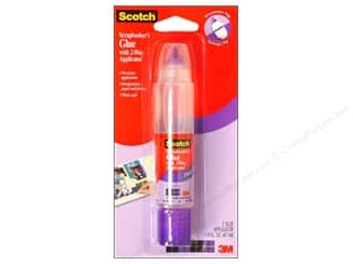 Scrapbooking Clear: Scotch Scrapbooker's Glue 2 Way Applicator 1.6 oz