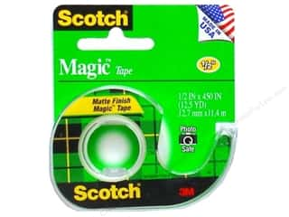 "Glues, Adhesives & Tapes Scotch Tape: Scotch Tape Magic 1/2""x 450"""