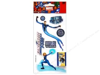 EK Marvel 3D Sticker Fantastic Four 2