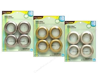 metallic curtain grommets: Dritz Home Curtain Grommets, SALE $6.59-$8.69.