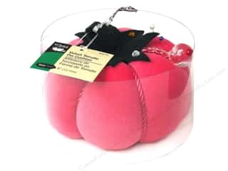 Dritz Pin Cushion Velvet Tomato 5&quot; Fashion Pink