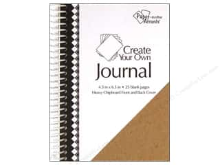 Scrapbooking & Paper Crafts: Paper Accents Create Your Own Journal 4.5x6.5 Blnk
