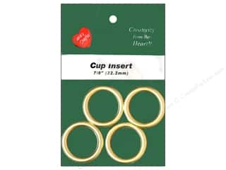Lara's Crafts Cup Insert 7/8 in. Metal 4 pc.