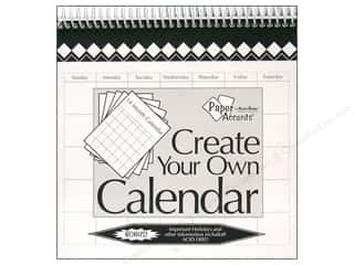 Plaques & Decorative Signs Holiday Gift Ideas Sale: Paper Accents 14 Month Calendar 8 x 8 in. White