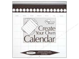 Plaques & Decorative Signs Holiday Gift Ideas Sale: Paper Accents 14 Month Calendar 12 x 12 in. White