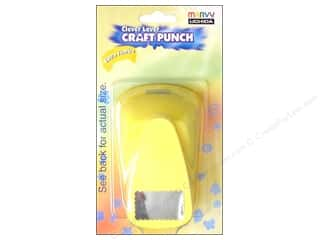 Uchida Extra Jumbo Craft Punch 1 1/4 in. Scallop Rectangle
