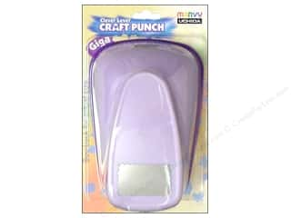 Uchida Giga Craft Punch 2 5/8 in. Scallop Rectangle