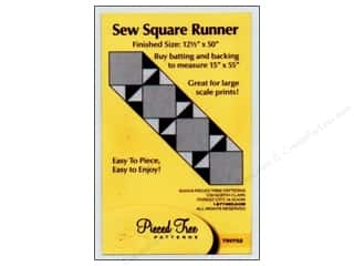 Tiny Sew Square Runner Pattern