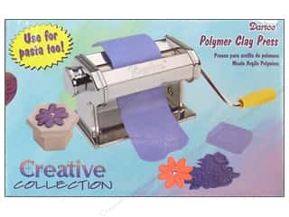 Craft & Hobbies: Darice Pastabike Pasta Machine For Clay Model 150