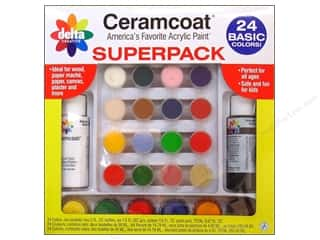 Delta Ceramcoat Super Pack Basic Colors